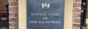 Supreme Court of NSW pillar