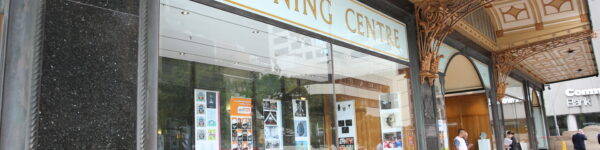 Downing Centre window