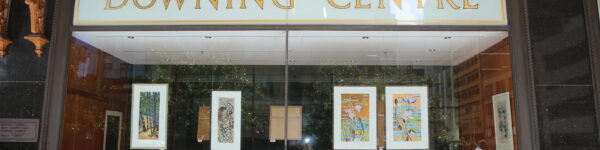 Artworks at Downing Centre