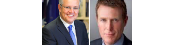 Scott Morrison and Christian Porter
