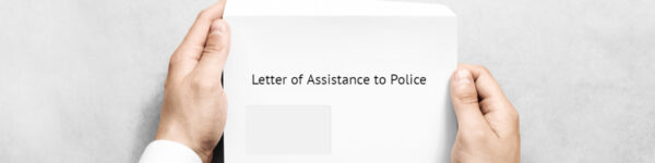 Letter of assistance to police